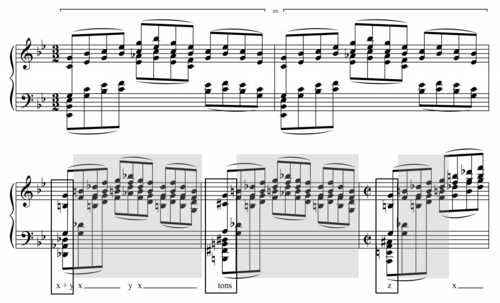 Figure 22 : Georges Dandelot, « Le sommeil interrompu », mes. 21-25 (Dandelot 1929).