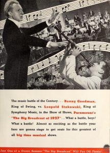Figure 8 : Publicité pour The Big Broadcast of 1937 parue dans Motion Picture Daily (29 septembre 1936, p. 3). Source : http://mediahistoryproject.org/.