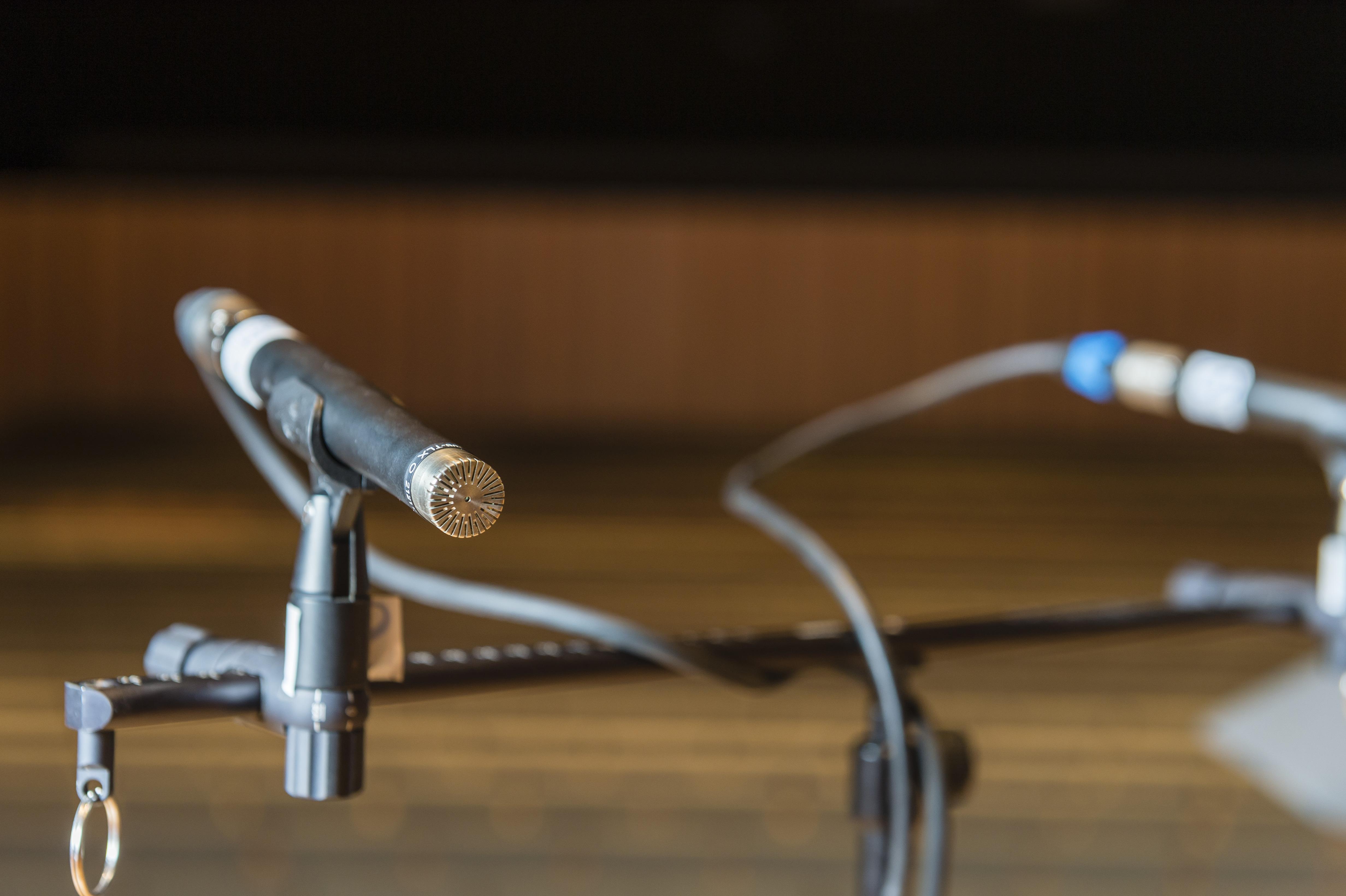 Figure 2a: Couple microphonique. Photo: Cyril FRESILLON/ Pprime / CNRS Photothèque.