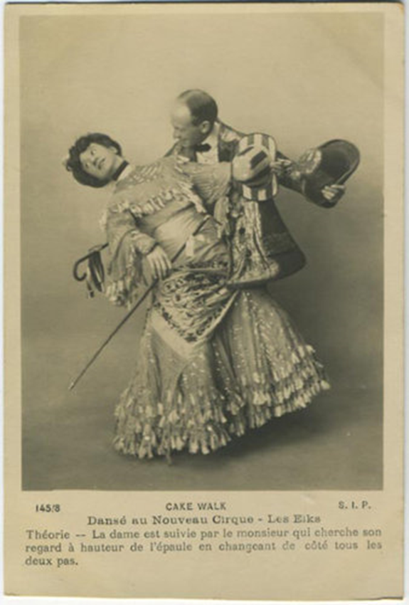 Figure 4 : Promotional Card for Les Elks at the Nouveau Cirque, 1902.