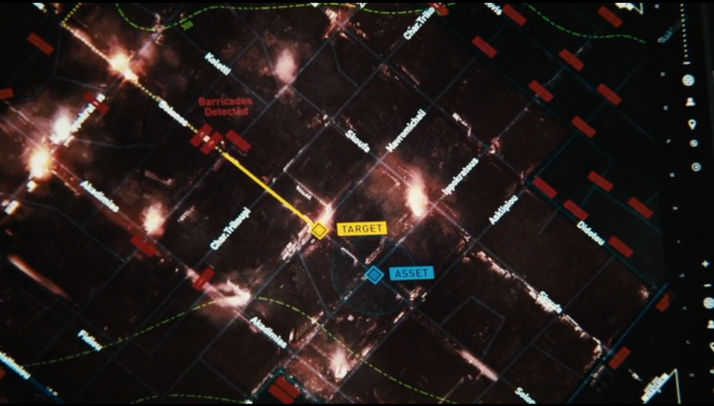 Figure 5 : Cartographie, Paul Greengrass, <em>Jason Bourne</em> (2016), 00:28:15 © Universal Pictures.