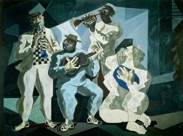 Figure1: <em>Chorinho</em> by Candido Portinari, 1942 (© Candido Portinari).