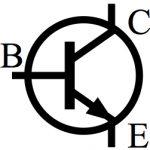 Figure 2: Symbole schématique d'un transistor bipolaire.
