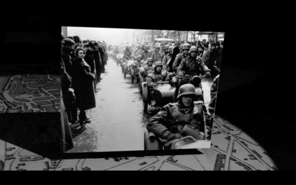 Figure 10: Capture d'écran du documentaire <em>The Lady in Number 6</em> de Malcolm Clarke; idée de transition (10:48).