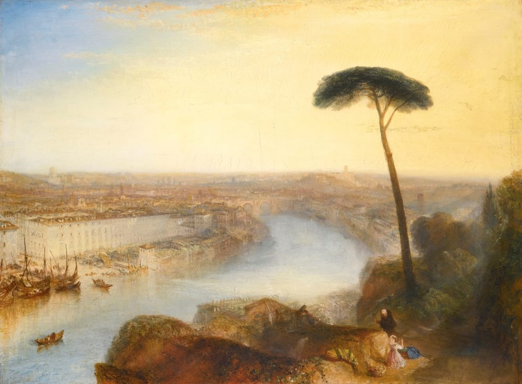 Figure 2 : <em>Rome, From Mount Aventine</em> (1885) de William Turner.